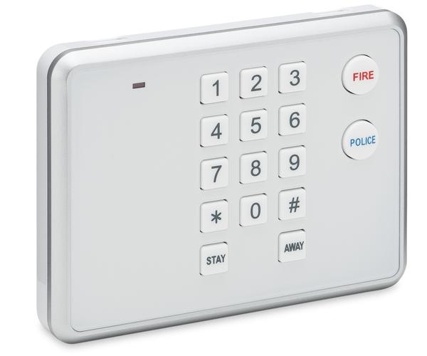 2gig pad1 345 wireless keypad alarm grid. Black Bedroom Furniture Sets. Home Design Ideas