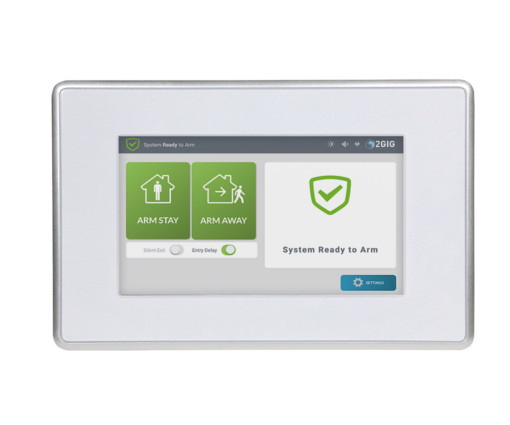 2gig sp2 gc3 wireless touch screen keypad for gc3 alarm grid. Black Bedroom Furniture Sets. Home Design Ideas
