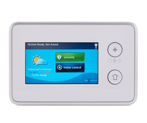2gig ts1 wireless touch screen keypad alarm grid. Black Bedroom Furniture Sets. Home Design Ideas