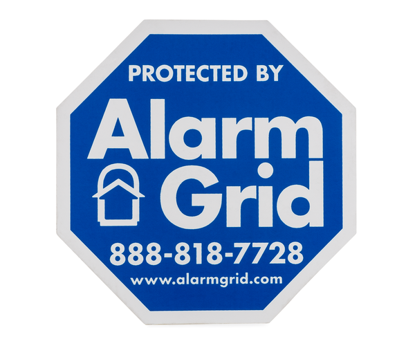 AG Indoor Security Stickers Window Stickers With Adhesive Front - Window decals for home security