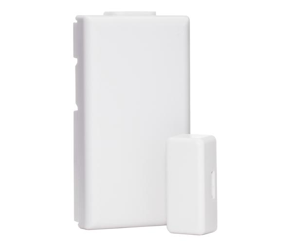 Wireless window sensors for alarm systems