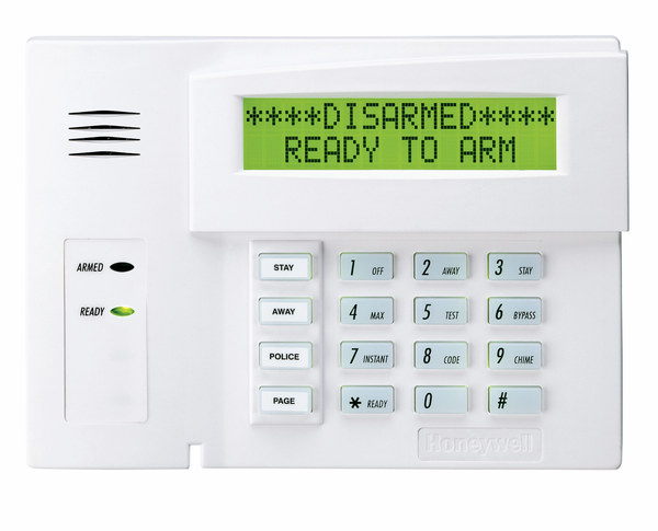honeywell 6160 alphanumeric alarm keypad alarm grid. Black Bedroom Furniture Sets. Home Design Ideas