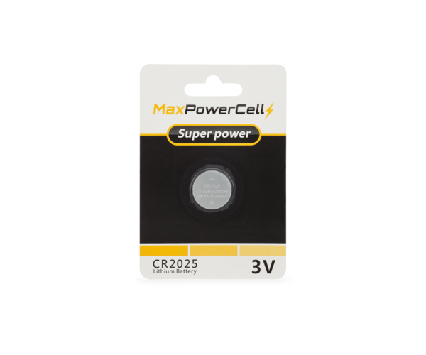 KeylessOption 2025 Battery Long Lasting 3v Lithium for Keyless Entry Remote Smart Key Fob Alarm Head Flip Keys CR2025 2 Count