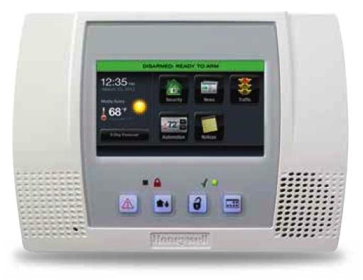Honeywell L5100 Sia Lynx Touch Wireless Alarm Control