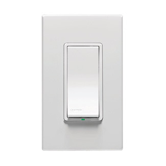Leviton VP0SR-1LZ - Coordinating 3-Way Z-Wave Switch w/ LED - Alarm Grid