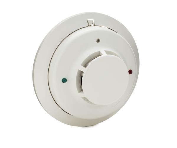 system sensor 2wt b 2 wire smoke detector with fixed heat sensor alarm grid. Black Bedroom Furniture Sets. Home Design Ideas