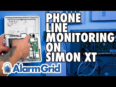 Brilliant How Do I Connect An Interlogix Simon Xt To Phone Line Monitoring Wiring Digital Resources Unprprontobusorg
