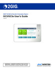 2GIG GC3/GC3e - User Guide Rev. B