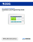 2GIG GC3 Installation and Programming Guide