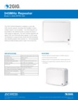2GIG RPTR1-345 Wireless Repeater - Data Sheet