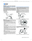 2GIG SDS1-345 Smoke Detector Sensor - Installation Instructions
