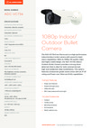 ADC-VC736 Indoor/Outdoor Bullet Cam Data Sheet