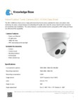 ADC-VC836 Indoor/Outdoor Turret Camera - Data Sheet