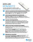 Aeon Labs Minimote - User Guide