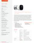 Alarm.com 1080p Outdoor Wi-Fi Camera (ADC-V723) - Data Sheet