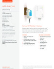 Alarm.com Smart Water Valve SWV100 - Data Sheet
