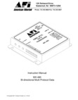 American Fibertek MX-480 Instruction Manual