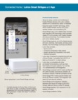 Lutron Caseta Smart Bridge - Data Sheet