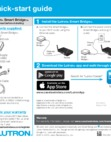 Lutron Caseta Smart Bridge - Quick Start Guide