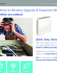 DSC PG9WLSHW8 PowerG Wired to Wireless Converter - Information Brochure