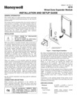 Honeywell 4219 Install Guide - Original, Dated 5/01