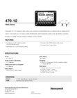Honeywell 470-12 Data Sheet