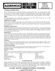 Honeywell 470-12 - Installation Manual