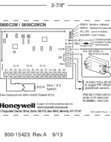 Honeywell 5800C2W Quick Installation Diagram
