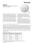 Honeywell 5800CO Datasheet