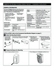 Honeywell 5800PIR-OD Installation Manual