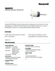 Honeywell 5800RPS Data Sheet