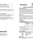 Honeywell 5800TM Installation Manual