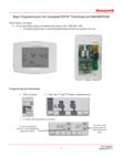 Honeywell 5800ZBRIDGE-ZSTAT Integration Programming Guide