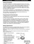 honeywell glass break sensor manual