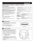 Honeywell 5809FXT - Installation Instructions