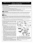Honeywell 5817CB Installation Manual & Setup Guide (Rev B)