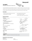 Honeywell 5818MNL Data Sheet