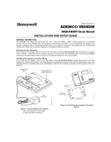 Honeywell 5828DM Installation Manual and Setup Guide