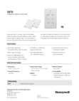 Honeywell 5878 Data Sheet