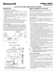 Honeywell 5883H Installation Manual & Setup Guide