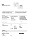 Honeywell 6150 (K4392V2-H M7240) Data Sheet