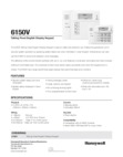 Honeywell 6150V (K4392V2-H M7240) Data Sheet