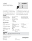 Honeywell 6160PX (K4274B1-H M7274) Data Sheet