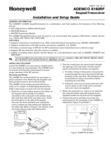 Honeywell 6160RF (K4274B1-H M7274) Installation Manual and Setup Guide