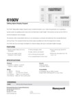 Honeywell 6160V (K4274B1-H M7274) Data Sheet