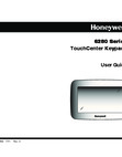 Honeywell 6280 User Guide