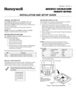 Honeywell 6460 Installation Manual