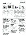 Honeywell Alarmnet Cellular GSM Communicators Data Sheet