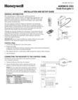 Honeywell CE3 - Installation and Setup Guide