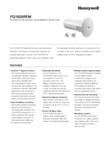 Honeywell FG1625RFM Data Sheet